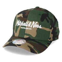 571bb632a8a Mitchell   Ness Pinscript High Crown Woodland Camo 110 Adjustable - Mitchell    Ness ₹ 2