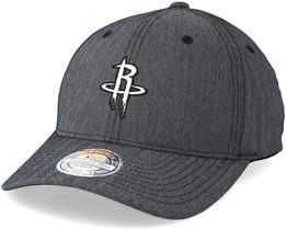 Houston Rockets Heringbone Grey 110 Adjustable - Mitchell & Ness