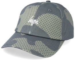 Halftone Dad Cap Khaki Camo Adjustable - Hype