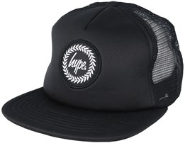 Crest Black Trucker - Hype
