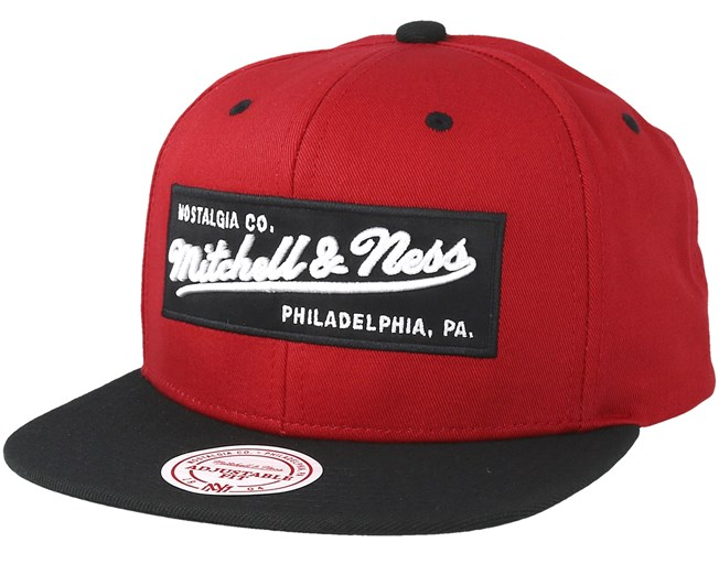 online retailer 3068c 66777 Own Brand Box Logo Baked Apple Black Snapback - Mitchell   Ness cap -  Hatstore.co.in