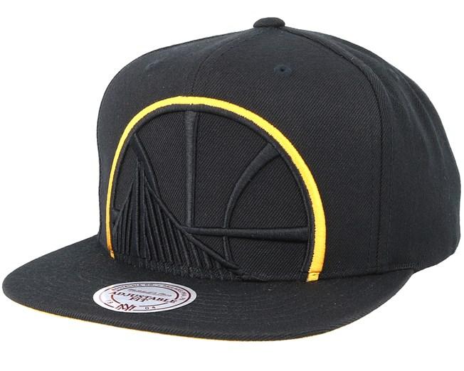 Golden State Warriors Cropped Xl Black Snapback - Mitchell   Ness caps -  Hatstoreaustralia.com 1486888984ad