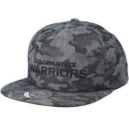 3164dedf15ae3f Mitchell & Ness Golden State Warriors Crowler Black Camo Snapback - Mitchell  & Ness $29.99