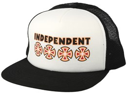 Bc Primary Mesh White Trucker - Independent