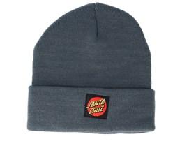 Classic Label Dot Steel Cuff - Santa Cruz