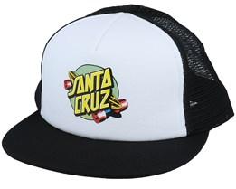 Summer Of 76 White/Black Trucker - Santa Cruz