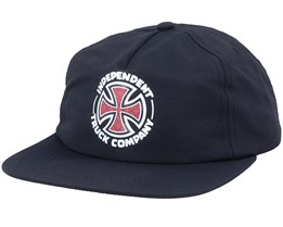 Repeat Crosses Black Strapback - Independent