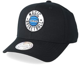 Orlando Magic Full Court Patch Black 110 Adjustable - Mitchell & Ness