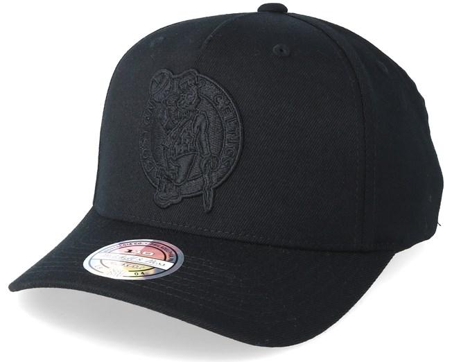Boston Celtics Outline Logo Black 110 Adjustable - Mitchell   Ness caps -  Hatstoreaustralia.com 4843658304f4