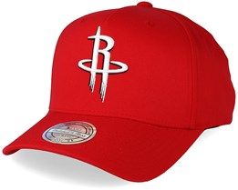 Houston Rockets Outline Logo Red 110 Adjustable - Mitchell & Ness