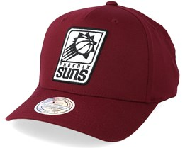 Phoenix Suns Outline Logo Burgundy 110 Adjustable - Mitchell & Ness