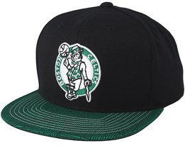 Boston Celtics Team DNA Black/Green Snapback - Mitchell & Ness