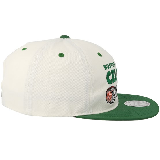 separation shoes fc8db 4bd2a Boston Celtics Dunk White Green Snapback - Mitchell   Ness caps -  Hatstoreaustralia.com