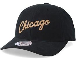 Chicago Bulls Gameplan Black/Brown Adjustable - Mitchell & Ness