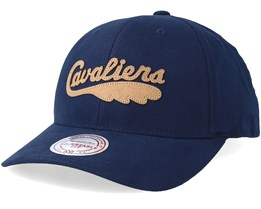 Cleveland Cavaliers Gameplan Navy/Brown Adjustable - Mitchell & Ness