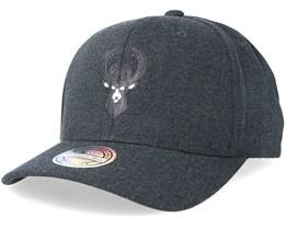 Milwaukee Bucks Decon Grey Adjustable - Mitchell & Ness