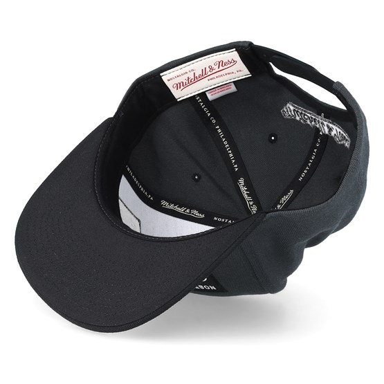 d76f2ba5eaa Branded Box Logo Phantom Black Snapback - Mitchell   Ness caps ...
