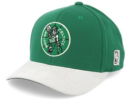 Boston Celtics Cord Green/White 110 Adjustable - Mitchell & Ness