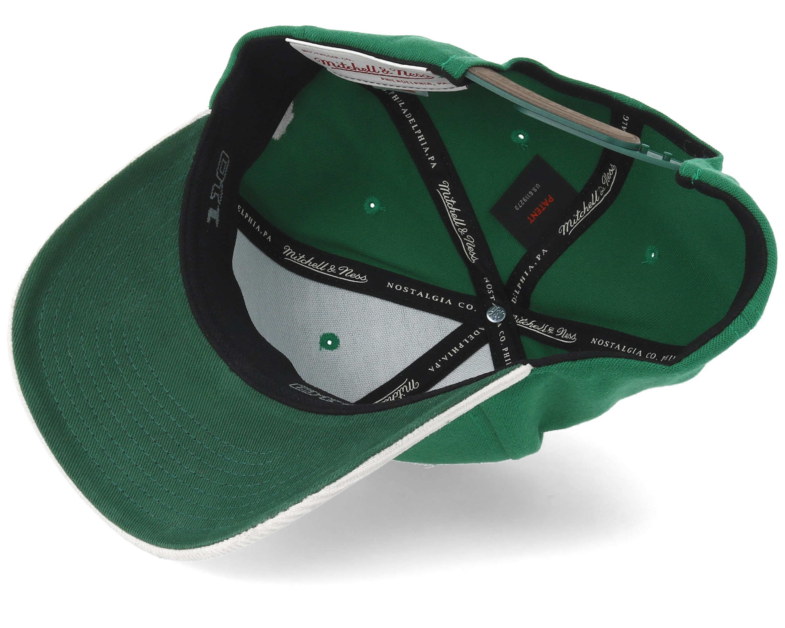 Oakley Det Cord >> Boston Celtics Cord Green/White 110 Adjustable - Mitchell & Ness keps - Hatstore.se