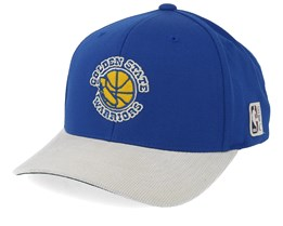 Golden State Warriors Cord Blue/White 110 Adjustable - Mitchell & Ness