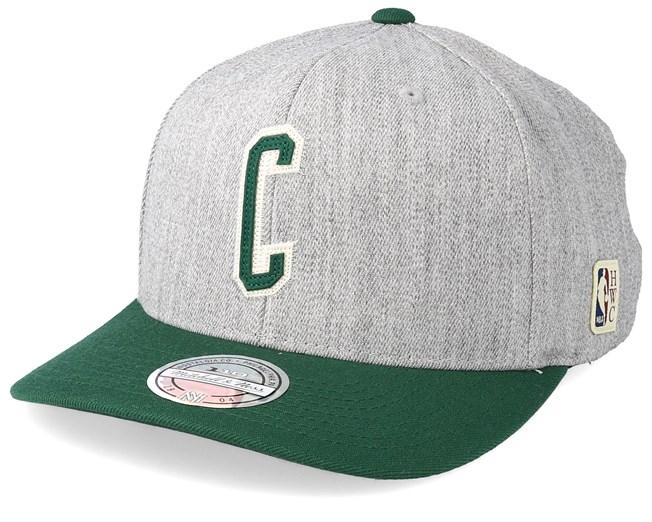 pretty nice 1e12f 824df Boston Celtics Hometown Heather Grey Green 110 Adjustable - Mitchell   Ness