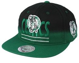 Boston Celtics Colour Fade Black/Green 110 Snapback - Mitchell & Ness
