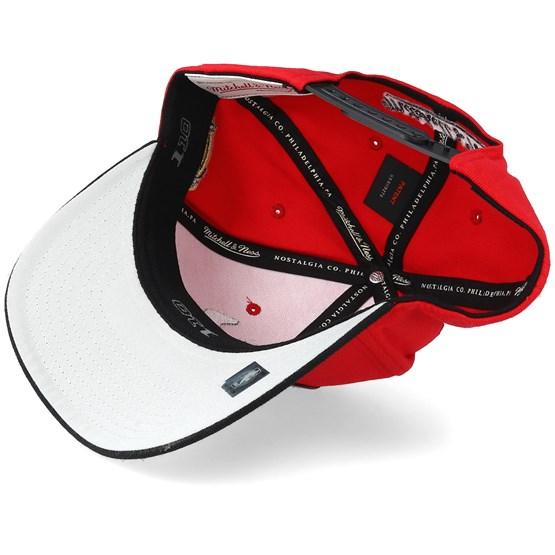 quality design 1f8d2 0974c Chicago Bulls Presto Black Red 110 Adjustable - Mitchell   Ness caps -  Hatstoreaustralia.com
