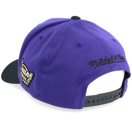 ba62967da69bb7 LA Lakers Presto Navy/Black 110 Adjustable - Mitchell & Ness caps |  Hatstore.co.uk