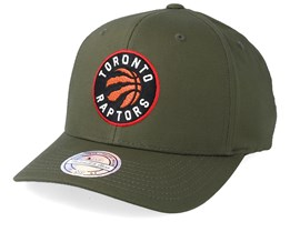 Toronto Raptors Battle Green 110 Adjustable - Mitchell & Ness