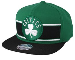 Boston Celtics Eredita Green/Black 110 Snapback - Mitchell & Ness