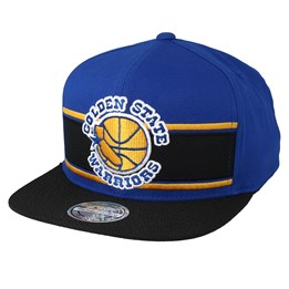 big sale b374d ddef3 Mitchell   Ness Golden State Warriors Eredita Blue Black 110 Snapback -  Mitchell   Ness  29.99