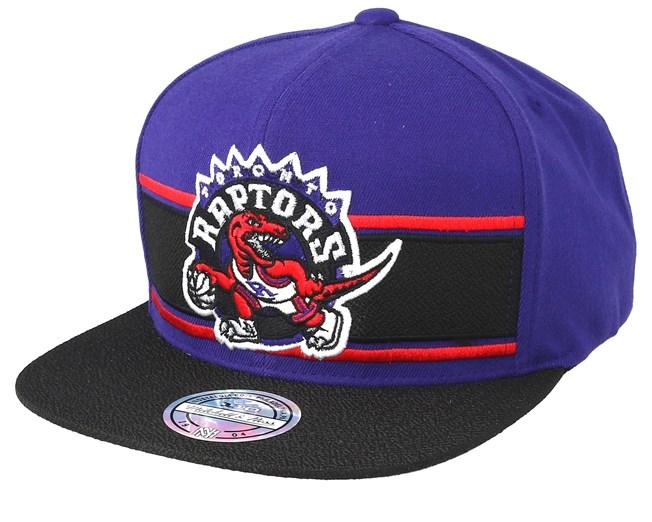 cc7704065fa91 Toronto Raptors Eredita Royal/Black 110 Snapback - Mitchell & Ness ...