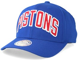 Detroit Pistons Jersey Logo Blue Adjustable - Mitchell & Ness