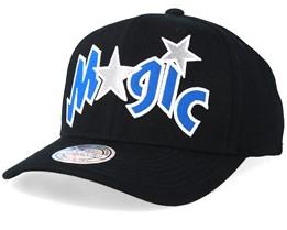 1ba8a60198e8b Orlando Magic Jersey Logo 110 Black Adjustable - Mitchell   Ness