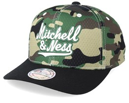 Own Brand Mesh 110 Camo/Black Adjustable - Mitchell & Ness