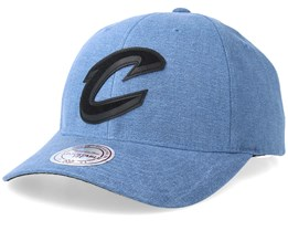Cleveland Cavaliers Erode Blue Adjustable - Mitchell & Ness