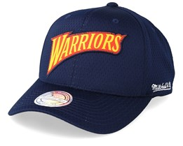 948616df90f Golden State Warriors Icon Navy 110 Adjustable - Mitchell   Ness