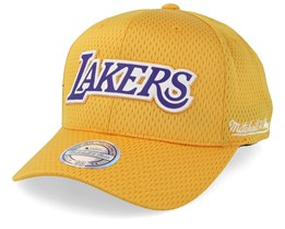 LA Lakers Icon Yellow 110 Adjustable - Mitchell & Ness