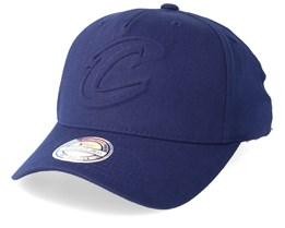 Cleveland Cavaliers Deboss Navy 110 Adjustable - Mitchell & Ness