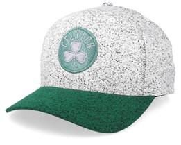 Boston Celtics No Rest Speckle White/Green 110 Adjustable - Mitchell & Ness