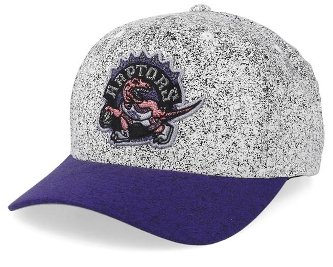 ff976876953fca Toronto Raptors No Rest Speckle White/Purple 110 Adjustable ...