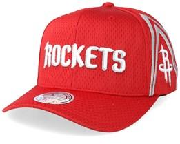 Houston Rockets Jersey Mesh Red 110 Adjustable - Mitchell & Ness