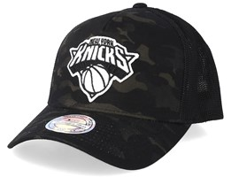 New York Knicks Multicam Camo/Black 110 Trucker - Mitchell & Ness