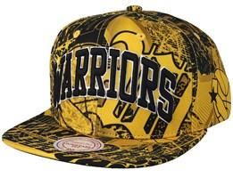 72e60c97b942f3 Golden State Warriors Process Yellow Snapback - Mitchell & Ness
