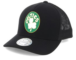 Boston Celtics Vintage Jersey Black 110 Trucker - Mitchell & Ness