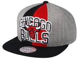 Chicago Bulls Equipe Grey/Black Snapback - Mitchell & Ness