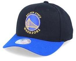 Golden State Warriors 2-Tone  Black/Royal 110 Adjustable - Mitchell & Ness