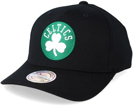 Boston Celtics Tonal Pinch Panel Black 110 Adjustable Mitchell Ness