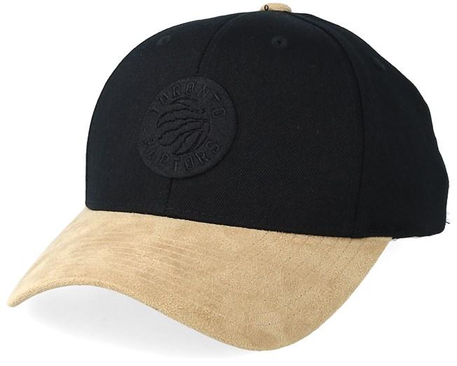 new style f16d9 1a4c5 Toronto Raptors Freshman 110 Black Gold Adjustable - Mitchell   Ness caps -  Hatstoreaustralia.com