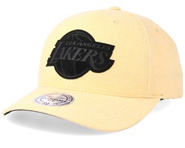 LA Lakers Erode Yellow Adjustable - Mitchell & Ness